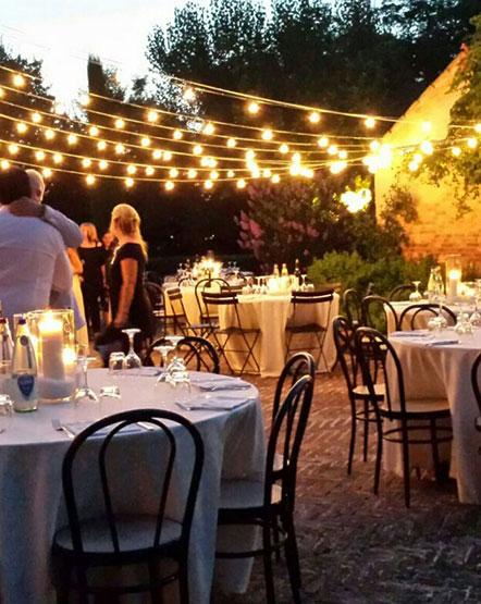 cena nella notte di San Lorenzo